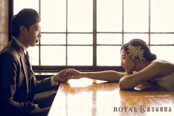 青田七六婚紗-日式建築婚紗-台北婚紗景點-復古婚紗照風格-蘿亞婚紗