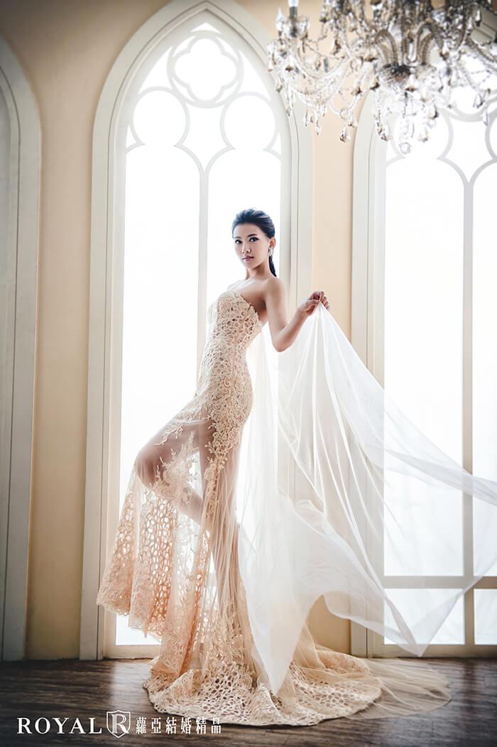 裸紗-性感婚紗-粉膚馬甲裸紗-婚紗禮服-婚紗照-拍婚紗-婚紗推薦-台北-蘿亞婚紗