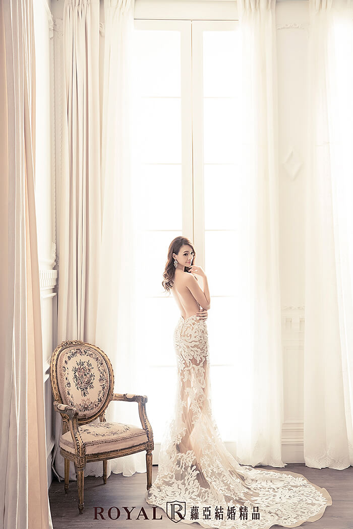 裸紗-性感婚紗-韓系裸紗-婚紗禮服-婚紗照-拍婚紗-婚紗推薦-台北-蘿亞婚紗
