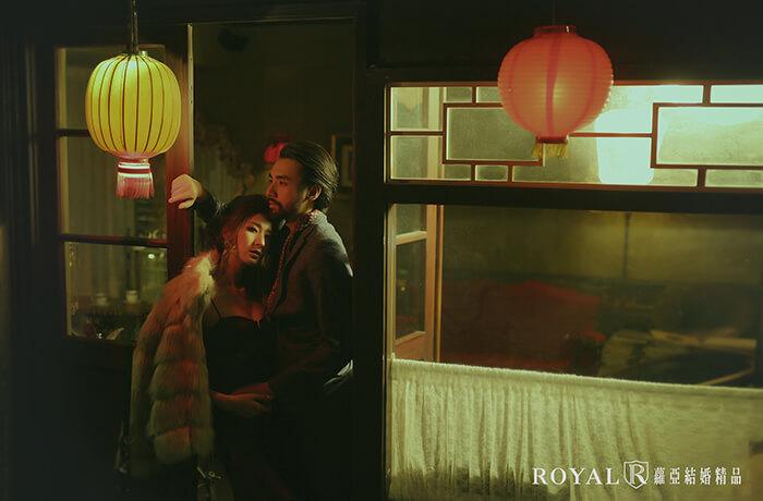 復古婚紗照-婚紗照風格-上海風婚紗-秘氏咖啡婚紗-台北婚紗推薦-蘿亞婚紗