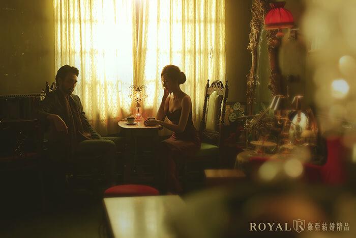 復古婚紗照-復古上海風-婚紗照風格-秘氏咖啡婚紗-台北婚紗推薦-蘿亞婚紗