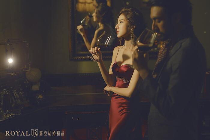 復古婚紗照-復古上海風婚紗-秘氏咖啡婚紗-台北婚紗推薦-蘿亞婚紗