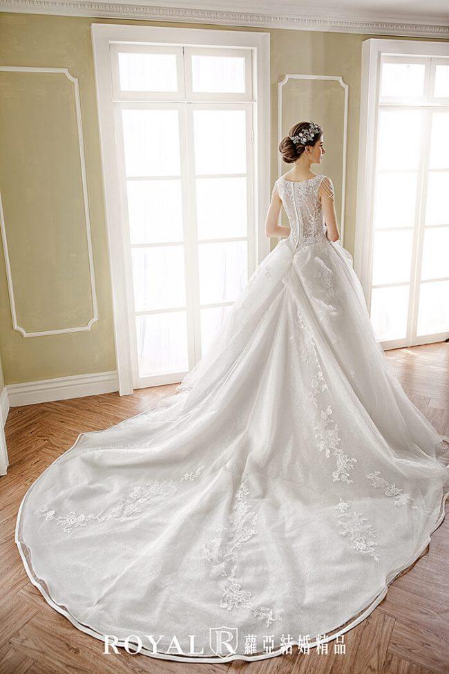 婚紗款式2019-婚紗禮服款式-蓬裙婚紗-白紗婚紗-典雅婚紗