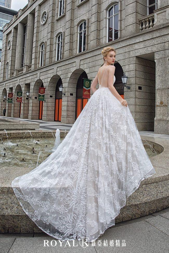 婚紗款式2020-婚紗禮服款式-蓬裙婚紗-輕婚紗-美背婚紗