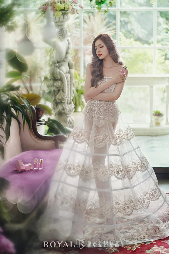 婚紗款式2020-婚紗禮服款式-裸紗婚紗-手工婚紗-a line婚紗