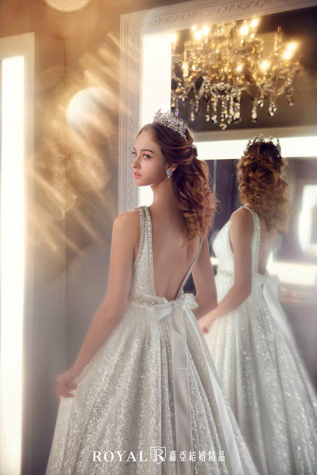 婚紗款式2020-婚紗禮服款式-a line婚紗-手工白紗-手工婚紗-鑽石紗婚紗