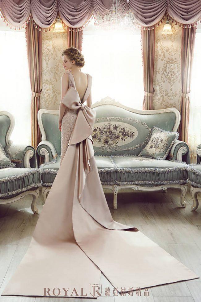 婚紗款式2020-手工婚紗-魚尾禮服-魚尾婚紗