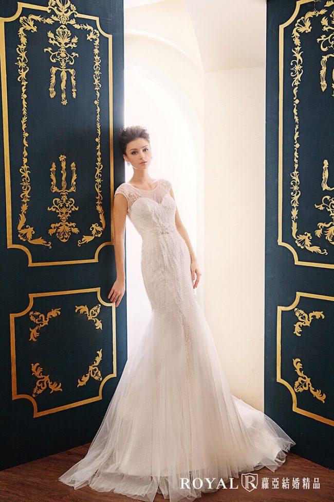 婚紗款式2020-魚尾婚紗-魚尾禮服-婚紗禮服款式-時裝婚紗-古典婚紗