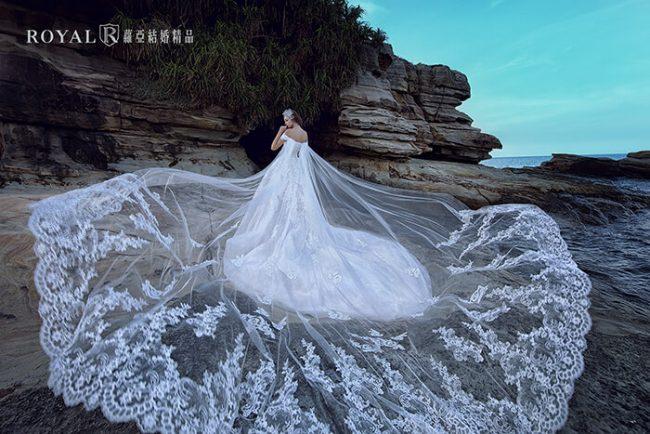 婚紗禮服款式-卡肩婚紗-卡肩白紗-斗篷婚紗-婚紗款式2019