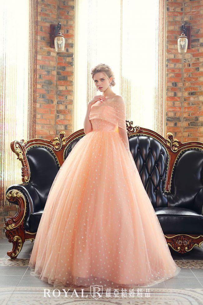 婚紗禮服款式-卡肩婚紗-卡肩禮服-婚紗款式2020-公主風婚紗-手工婚紗