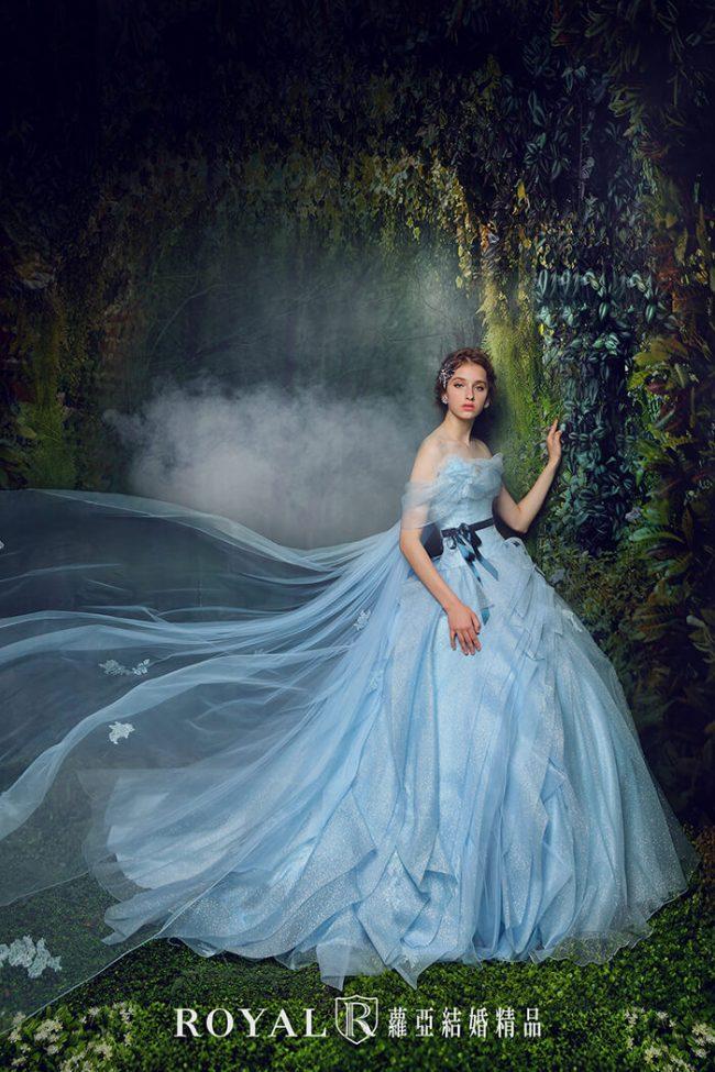 婚紗禮服款式-卡肩婚紗-卡肩禮服-手工婚紗-公主風婚紗