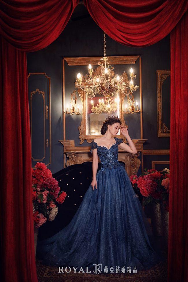 婚紗禮服款式-卡肩婚紗-卡肩禮服-歐式婚紗-宮廷風婚紗-手工婚紗