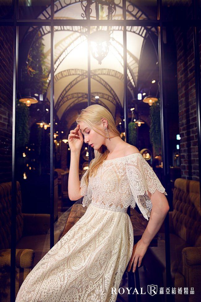 婚紗禮服款式-卡肩白紗-aline婚紗-卡肩婚紗-時裝婚紗-輕婚紗