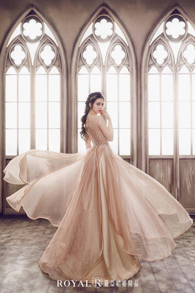 婚紗禮服款式-婚紗款式2020-a line婚紗-金色禮服-手工婚紗