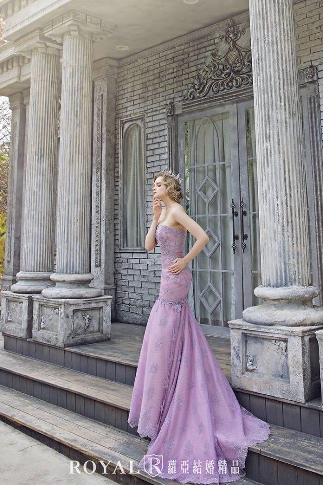 婚紗禮服款式-手工婚紗-魚尾婚紗-魚尾禮服-婚紗款式2020