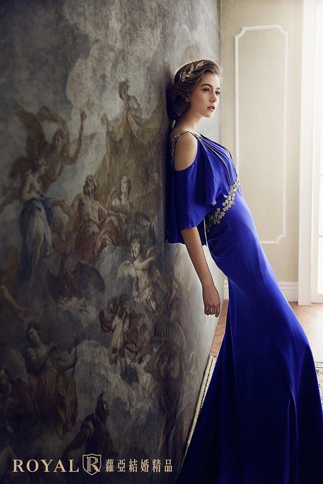 婚紗禮服款式-特殊袖型-婚紗款式2020-緞面婚紗-手工婚紗