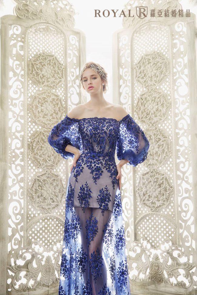 婚紗禮服款式-特殊袖型-婚紗款式2020-aline婚紗-手工婚紗-卡肩婚紗