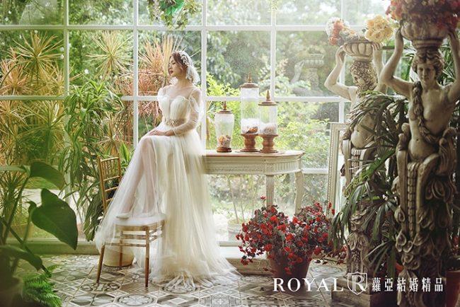 婚紗禮服款式-特殊袖型-婚紗款式2020-aline婚紗