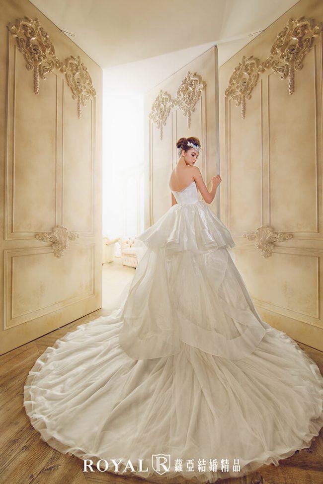 婚紗禮服款式-蓬裙婚紗-手工婚紗-簡約婚紗