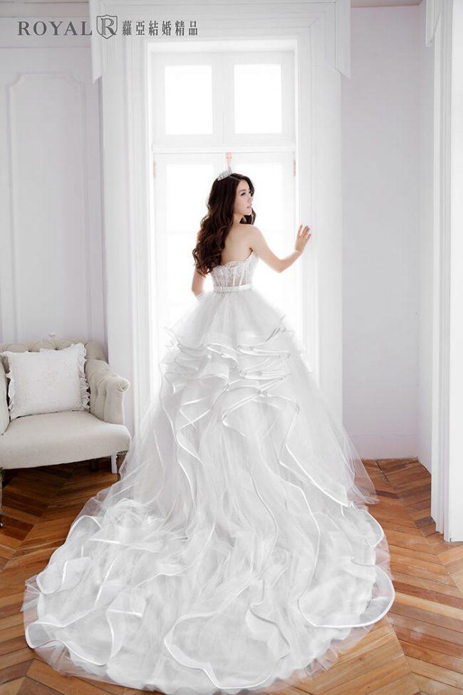 婚紗禮服款式-蓬裙婚紗-手工婚紗-蓬裙白紗-婚紗款式2019