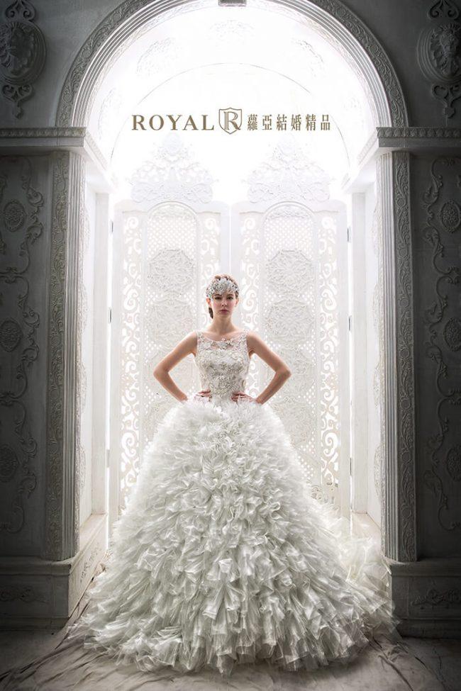 婚紗禮服款式-蓬裙婚紗-白紗婚紗-婚紗款式2020-手工婚紗