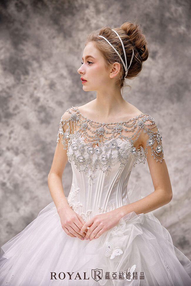 婚紗禮服款式-蓬裙婚紗-白紗婚紗-甜美婚紗-公主風婚紗
