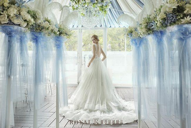 婚紗禮服款式-蓬裙婚紗-美背婚紗-手工婚紗-婚紗款式2020