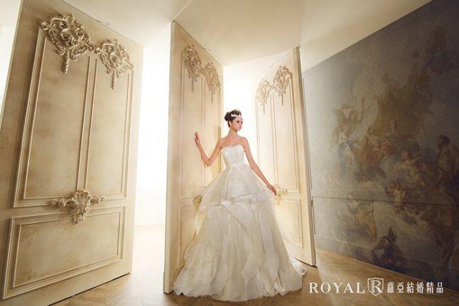 婚紗禮服款式-蓬裙婚紗-蓬裙白紗-婚紗款式2019