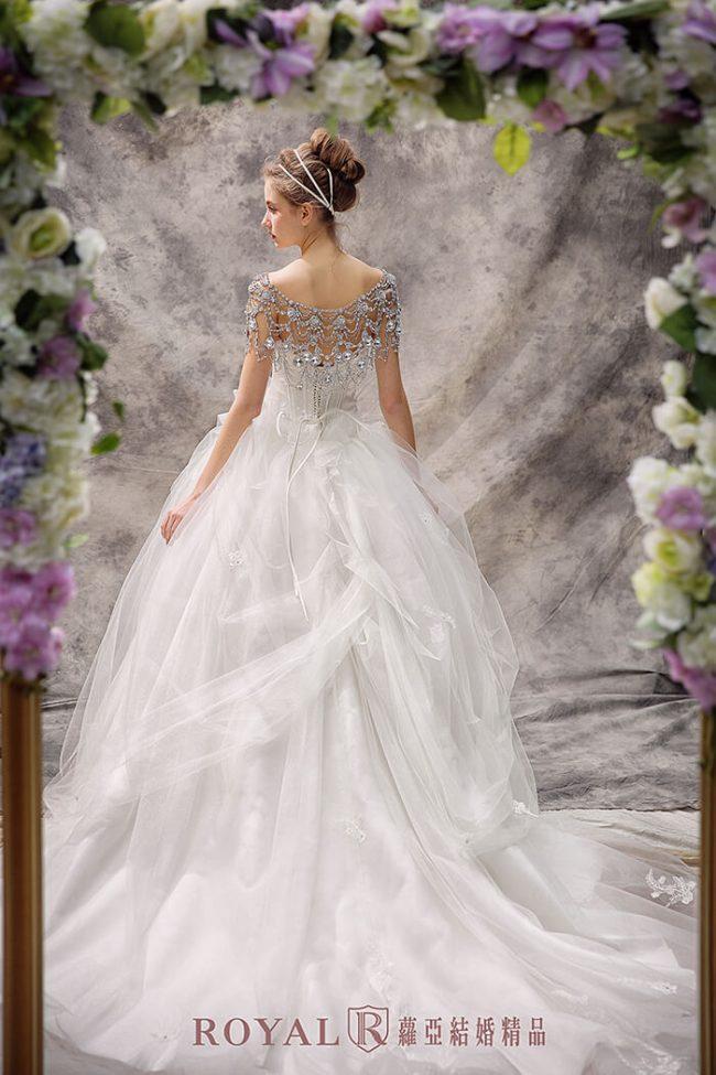 婚紗禮服款式-蓬裙婚紗-蓬裙白紗-公主風婚紗-甜美婚紗
