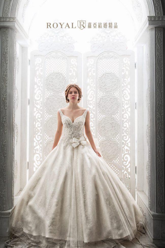 婚紗禮服款式-蓬裙婚紗-蓬裙白紗-婚紗款式2019-韓風婚紗