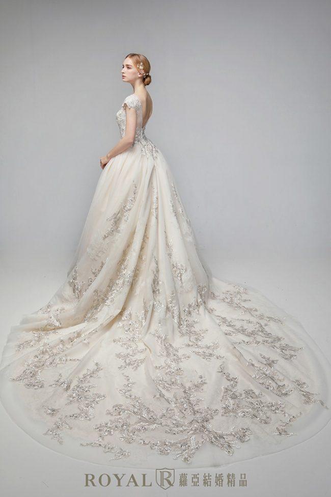 婚紗禮服款式-蓬裙婚紗-蓬裙白紗-婚紗款式2020-古典婚紗-古典白紗