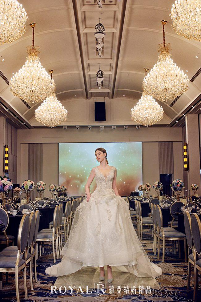 婚紗禮服款式-蓬裙婚紗-蓬裙白紗-婚紗款式2020-歐式婚紗