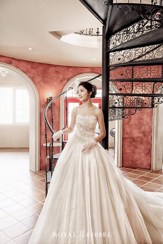 婚紗禮服款式-蓬裙婚紗-蓬裙白紗-婚紗款式2020-韓風婚紗