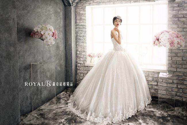 婚紗禮服款式-蓬裙婚紗-蓬裙白紗-婚紗禮服款式2020