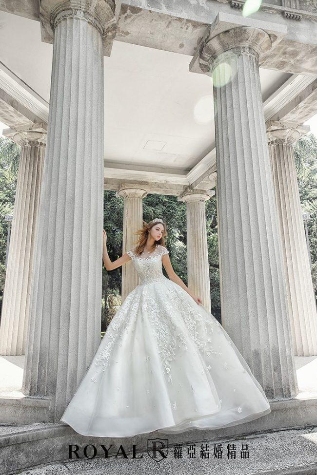 婚紗禮服款式-蓬裙婚紗-蓬裙白紗-手工婚紗-古典婚紗