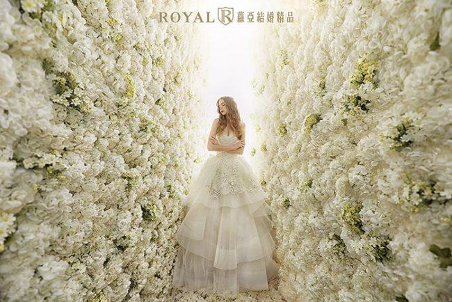 婚紗禮服款式-蓬裙婚紗-蓬裙白紗-手工婚紗