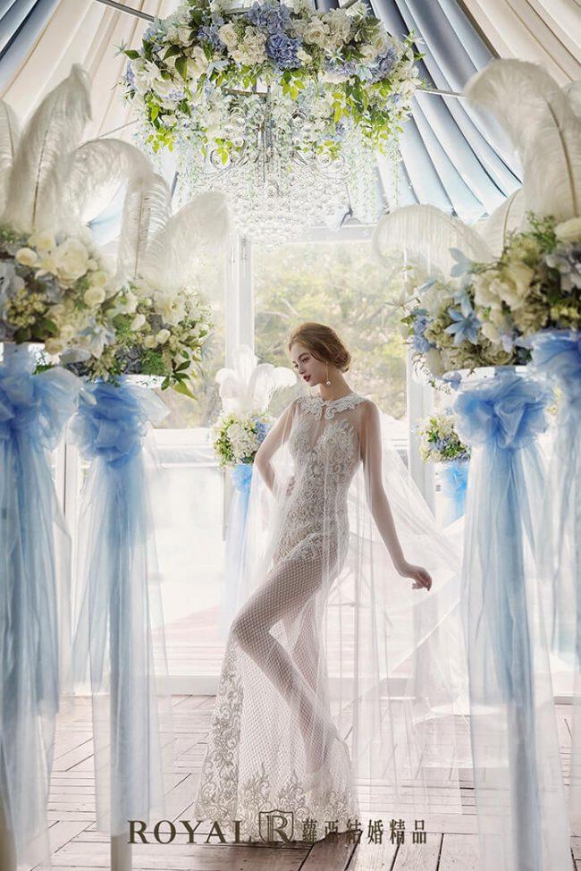 婚紗禮服款式-裸紗婚紗-斗篷婚紗-魚尾婚紗-手工禮服