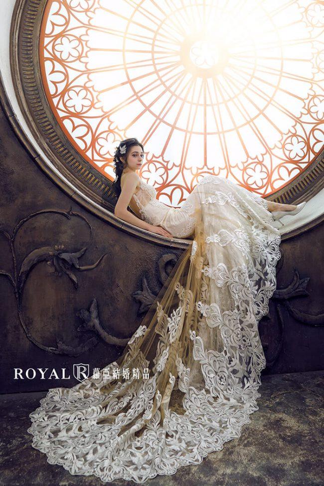 婚紗禮服款式-裸紗婚紗-魚尾婚紗-古典婚紗-婚紗款式2019