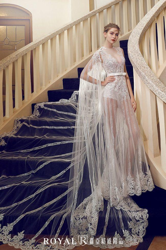 婚紗禮服款式-裸紗婚紗-魚尾婚紗-斗篷婚紗-手工婚紗
