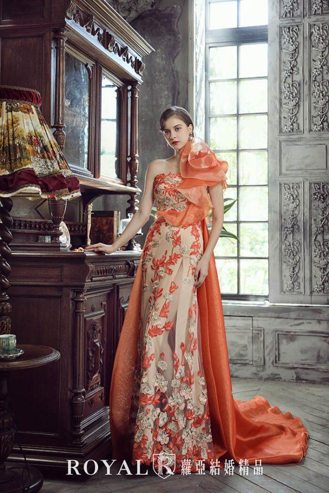 婚紗禮服款式-魚尾婚紗-手工婚紗-魚尾禮服-婚紗款式2020
