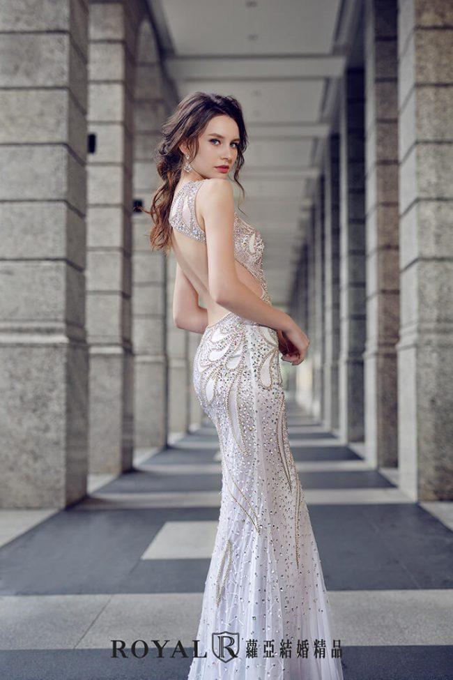 婚紗禮服款式-魚尾婚紗-魚尾白紗-婚紗款式2019