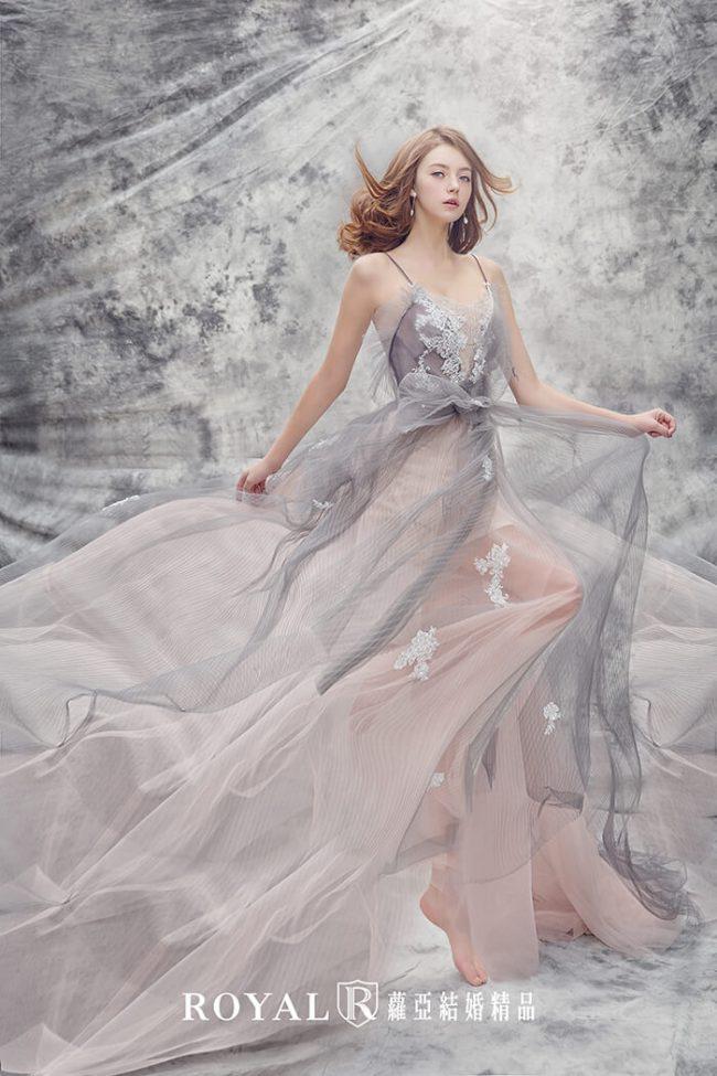 婚紗禮服款式-a line婚紗-仙氣婚紗-法式禮服