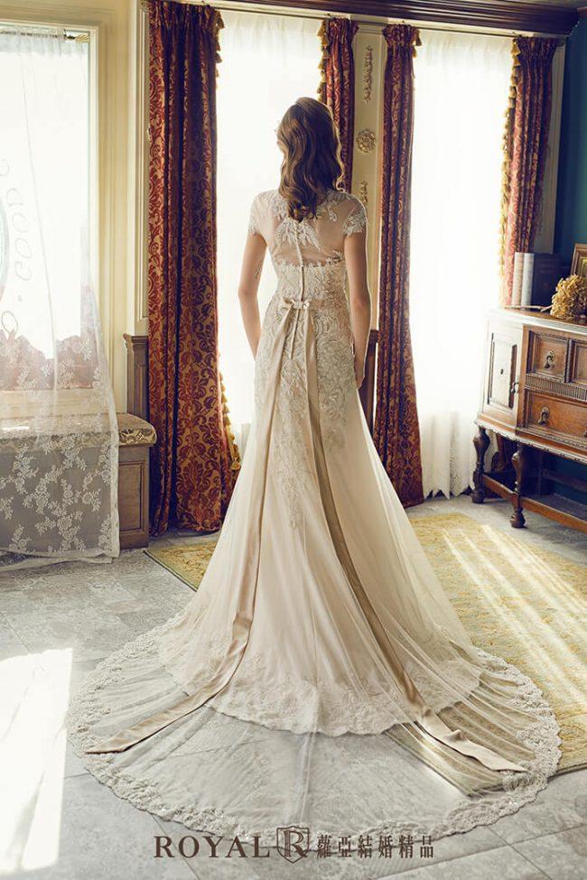婚紗禮服款式-a line婚紗-古典婚紗-復古婚紗-手工婚紗