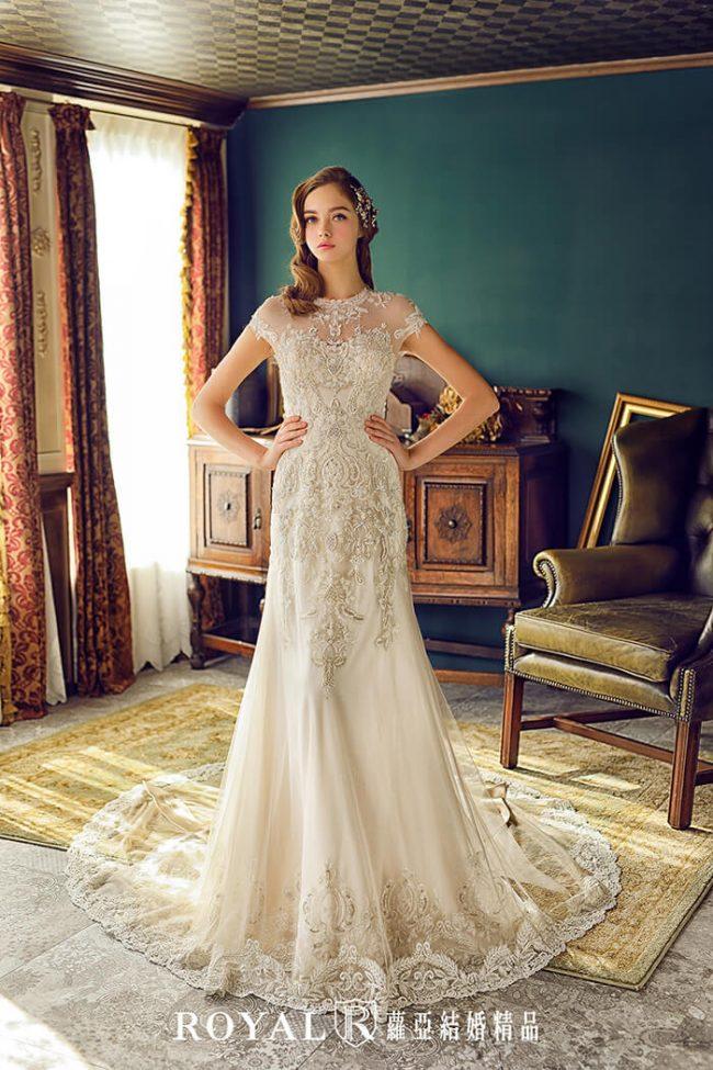 婚紗禮服款式-a line婚紗-古典婚紗-手工婚紗-復古婚紗