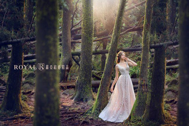 婚紗禮服款式-a line婚紗-手工禮服-優雅婚紗