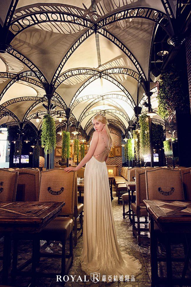 婚紗禮服款式-a line婚紗-美式禮服-時裝婚紗-美背婚紗