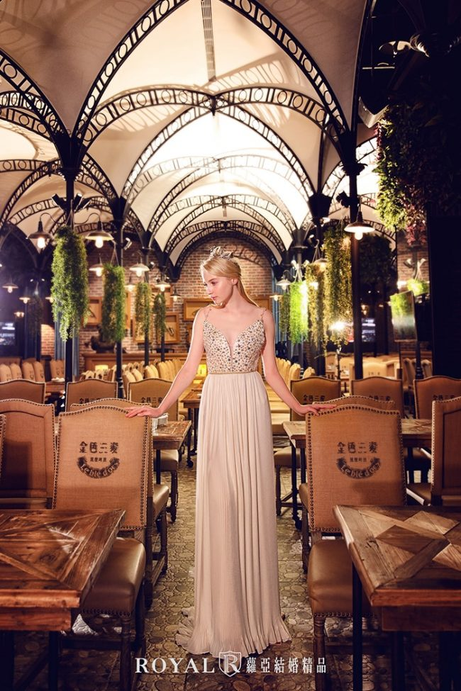 婚紗禮服款式-a line婚紗-美式禮服-時裝婚紗