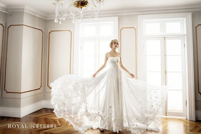 婚紗禮服款式-a line婚紗-輕婚紗-a line白紗