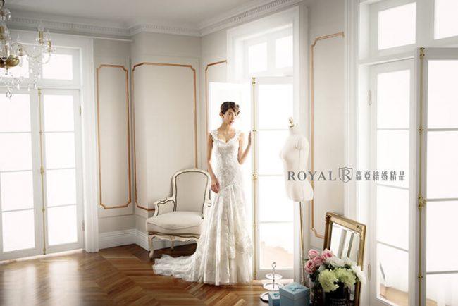 婚紗禮服款式-a line婚紗-a line白紗-古典婚紗-手工婚紗