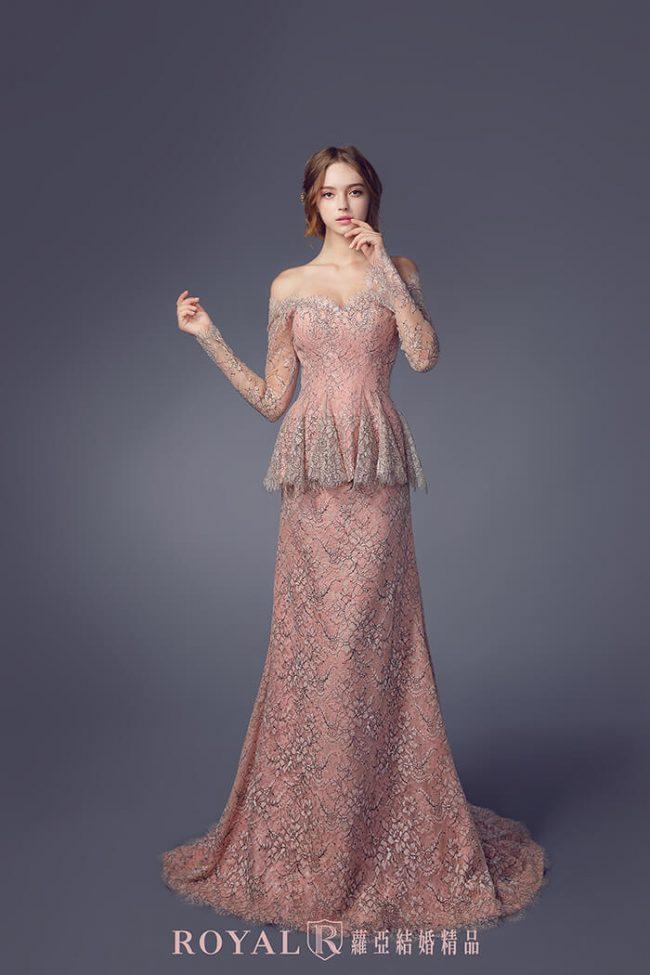 婚紗禮服款式-aline婚紗-卡肩婚紗-手工婚紗-兩件式婚紗